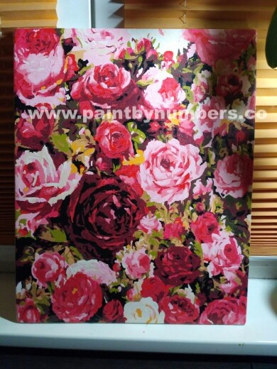 Romantic Pink Roses and Peonies1