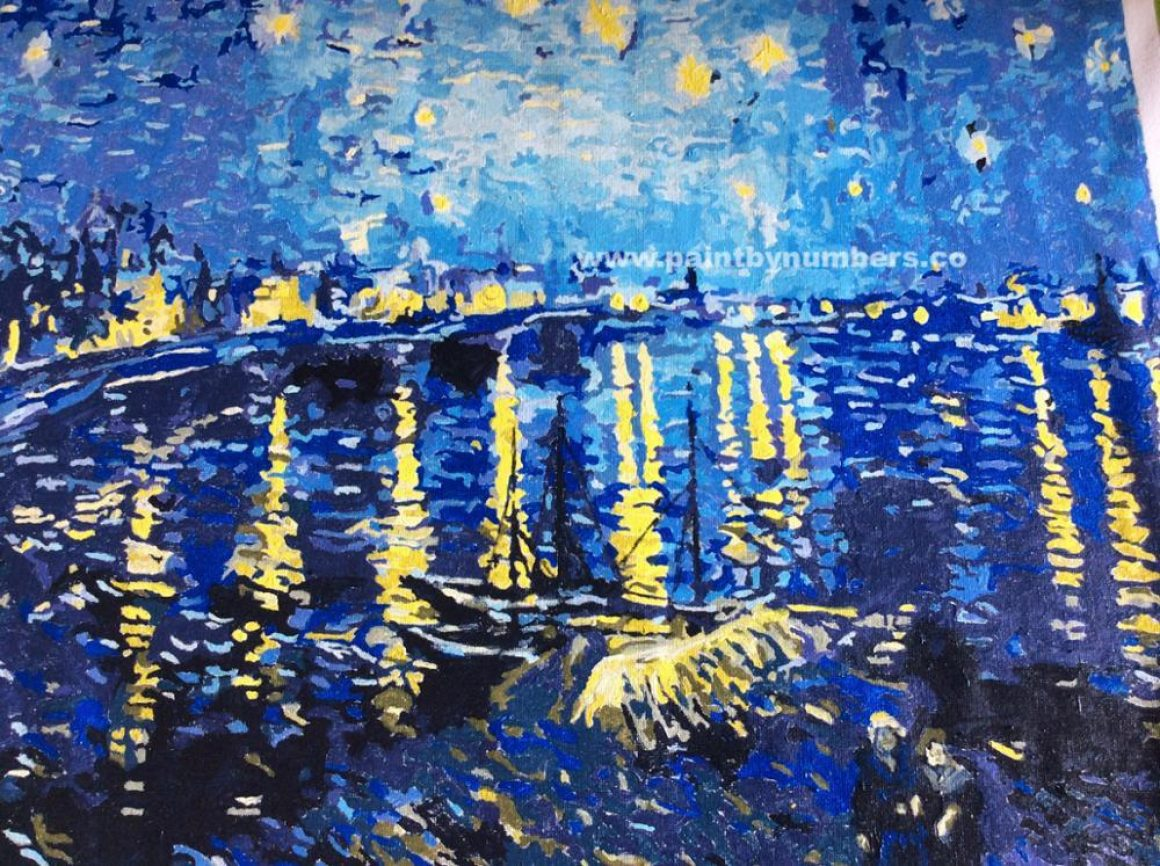 Starry Night Over the Rhone by Vincent van Gogh, 18898
