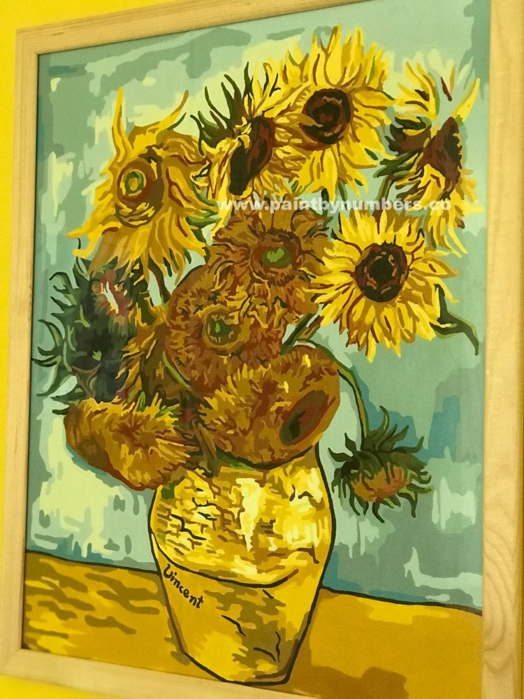 Sunflowers by Vincent van Gogh, 1889