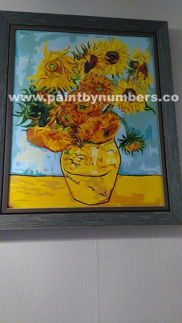 Sunflowers by Vincent van Gogh, 18891
