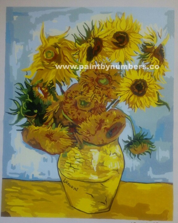 Sunflowers by Vincent van Gogh, 18892