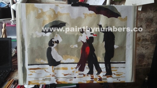 Tango Square under the rain2