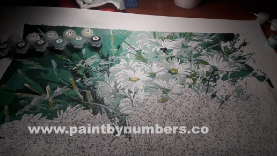 White Daisies Bunch1